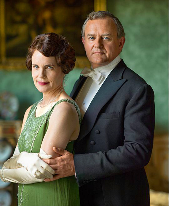 Downton Abbey Cora and Robert Grantham