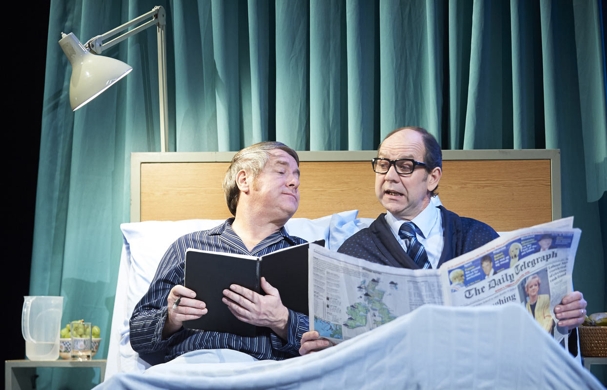 A look a like Eric & Ern are in bed