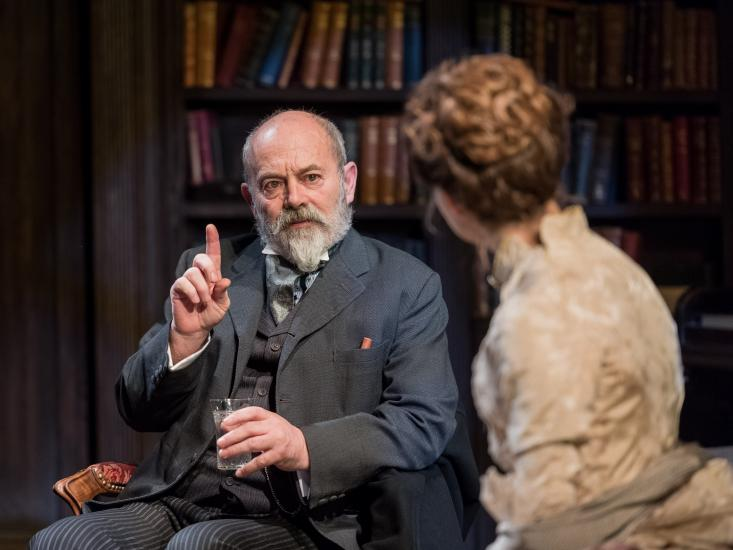 Keith Allen and Kara Tointon in Gaslight