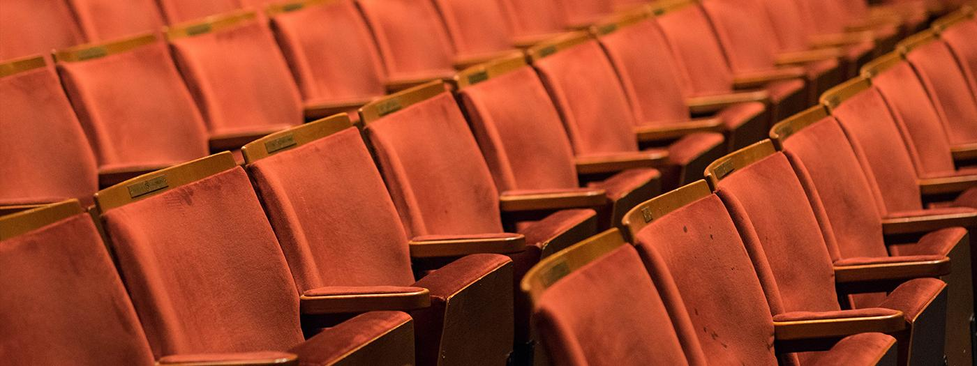Our auditorium seating