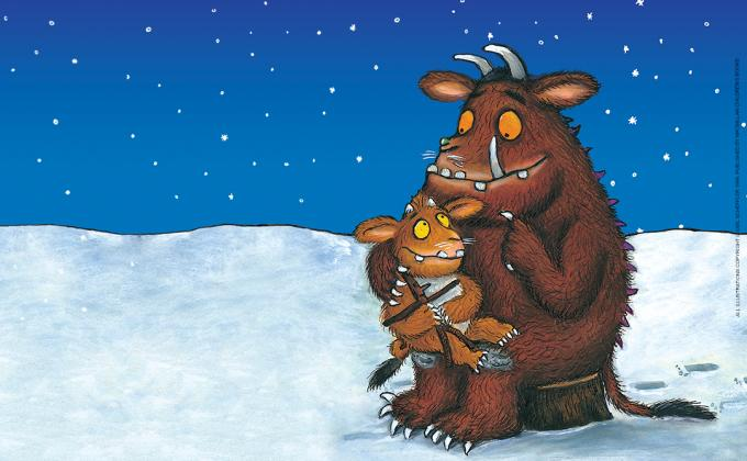 The Gruffalo and his Child