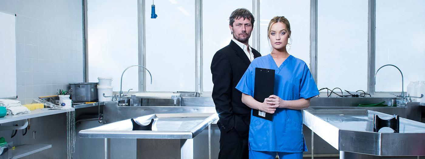 Laura Whitmore and Bill Ward in Not dead enough