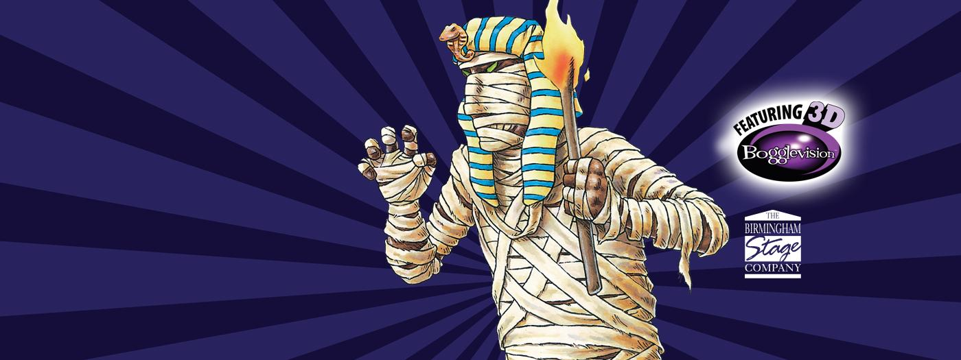 Creepy Mummy with a torch