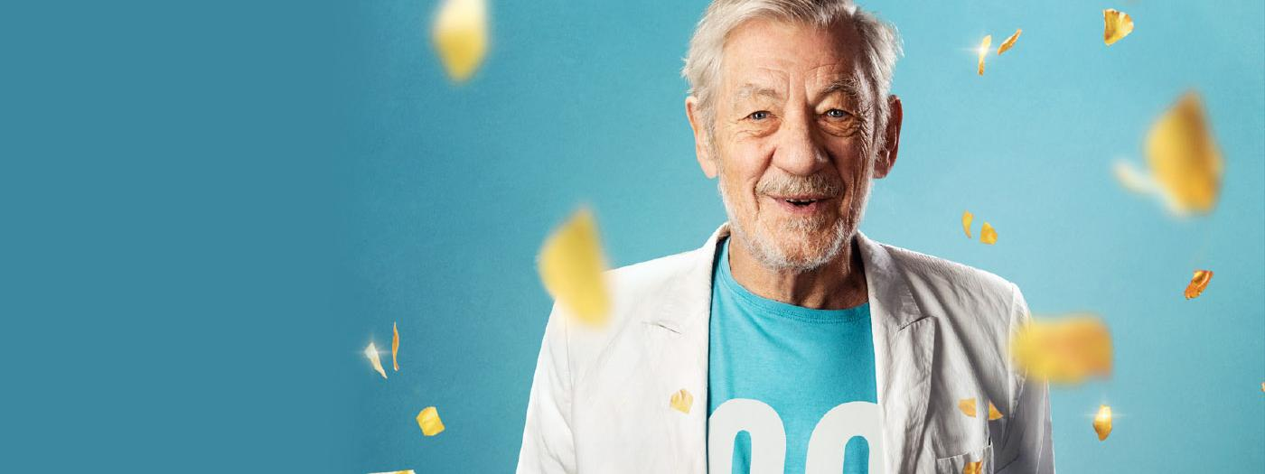 Ian McKellen is 80